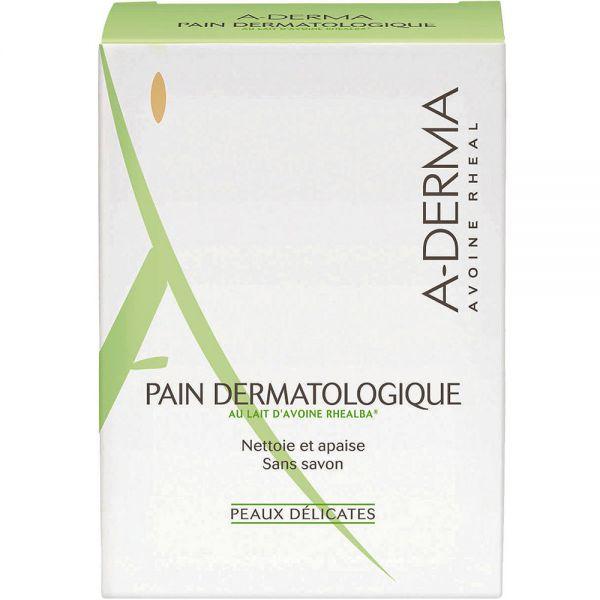 A-derma Cleansing Bar 100 g såpestykke for tørr hud, Apotekfordeg, 903836