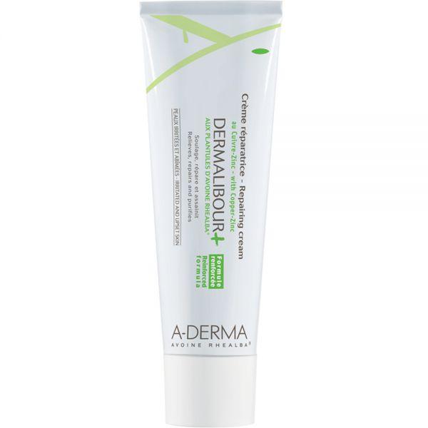 A-derma Dermalibour+ Repair Cream 50 ml reparerende salve for sår hud, Apotekfordeg, 850575