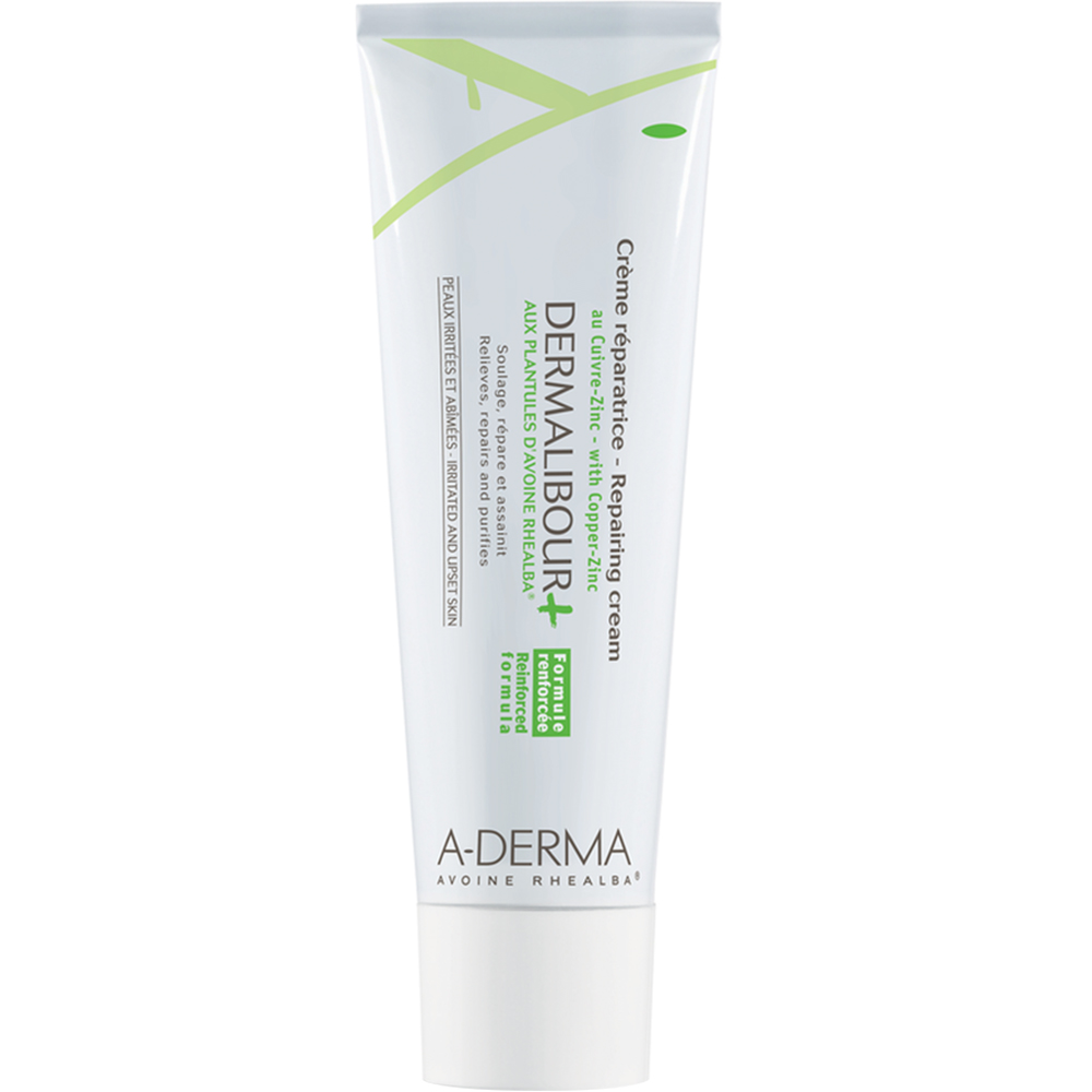 A-derma Dermalibour+ Repair Cream 50 ml reparerende salve for sår hud, Apotekfordeg, 850575