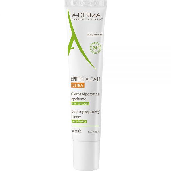 A-derma Epitheliale A.H Ultra 40 ml, Reparerende krem for skadet hud, Apotekfordeg, 988058