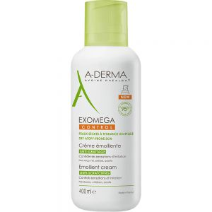 A-derma Exomega Control Cream 400 ml fuktighetskrem for irritert hud, Apotekfordeg, 999191