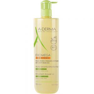A-derma Exomega Control Shower Oil 750 ml, ApotekForDeg, 852324