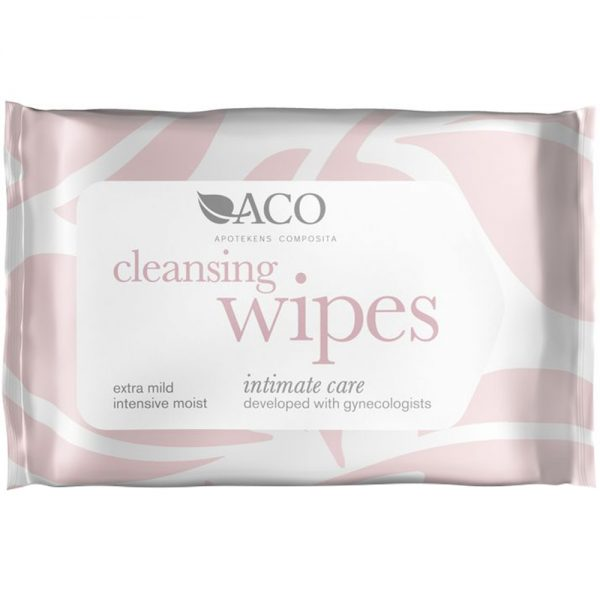 ACO Intimate care, Cleansing Wipes, Apotekfordeg, 899459