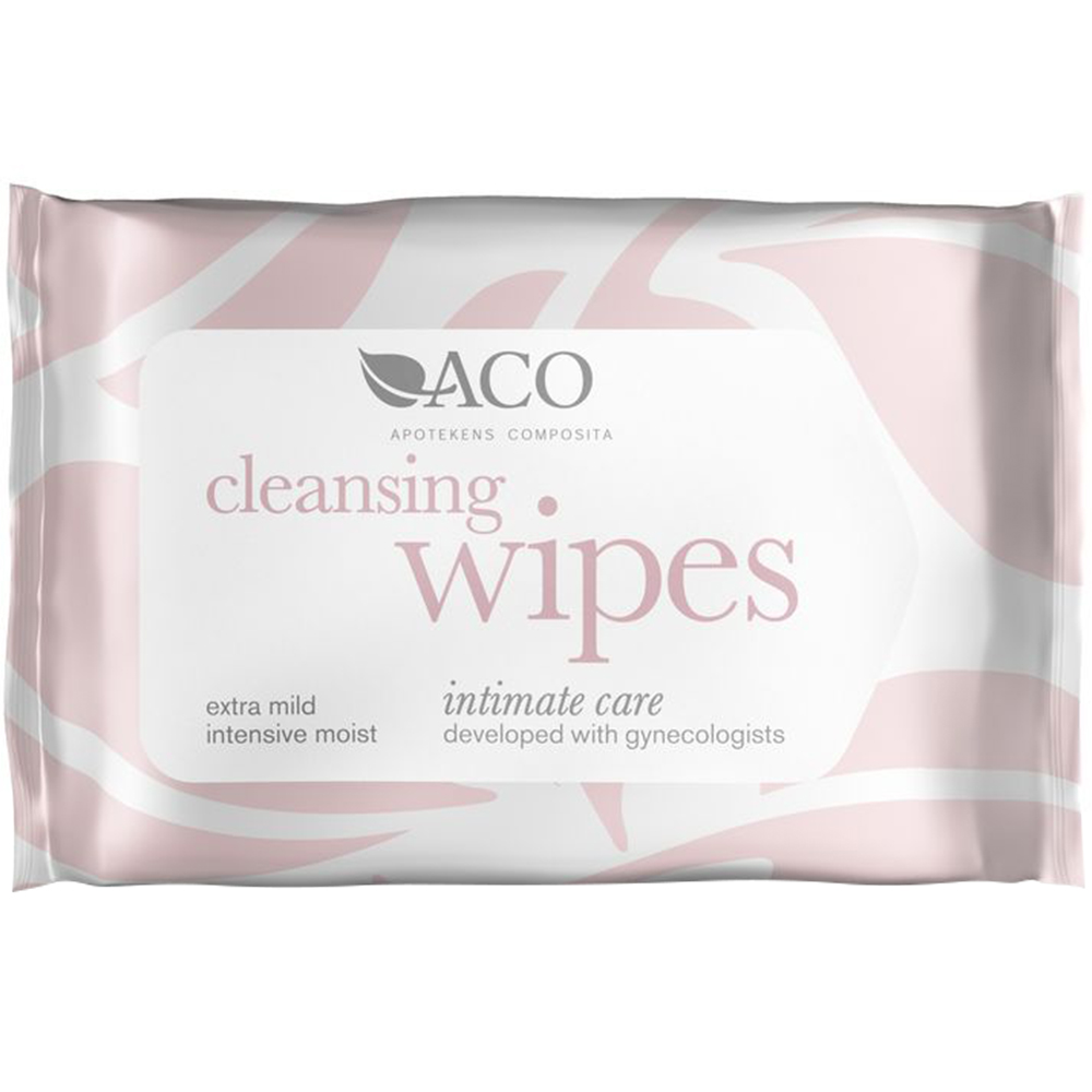 ACO Intimate care, Cleansing Wipes, Apotekfordeg, 899459