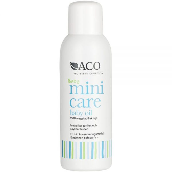 ACO Minicare baby oil, Apotekfordeg, 804761