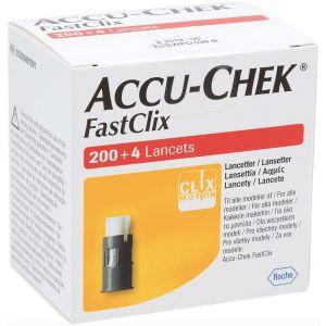 Accu-Chek FastClix lansettrommel, 204stk, ApotekForDeg, 851482