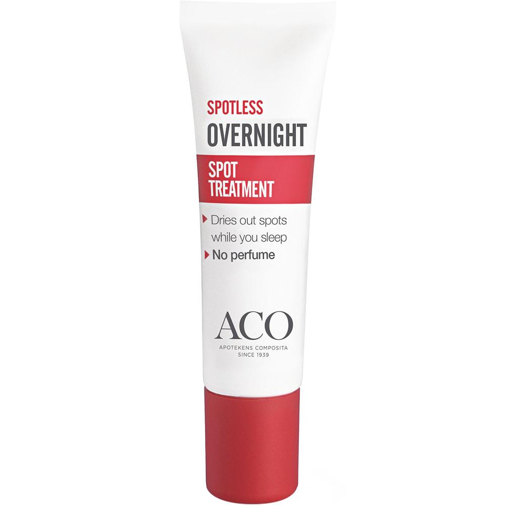 Aco spotless overnight treatment til punktbehandling av kviser og urenheter, Apotekfordeg, 922666