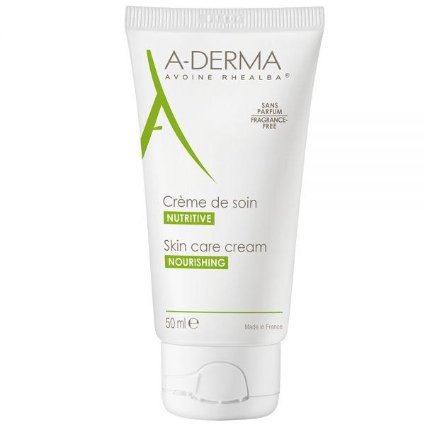 Aderma skin care cream, næringsrik krem som beroliger huden 50ml, apotekfordeg, 903867