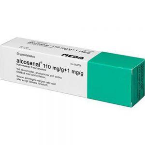 Alcos-anal Rektalsalve 50 g - mot hemoroider og analirritasjon, Apotekfordeg, 53736