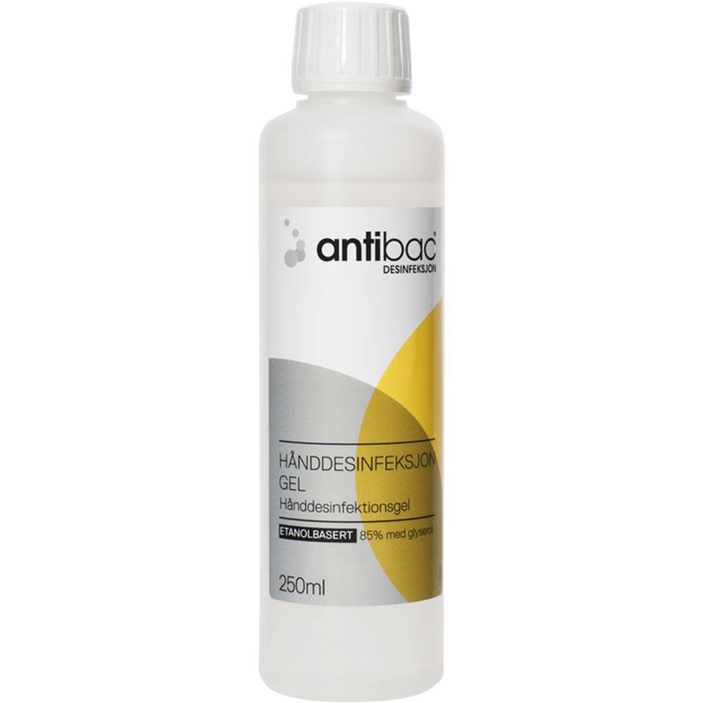 Antibac 85 % hånddesinfeksjon gel, Apotekfordeg, 922160