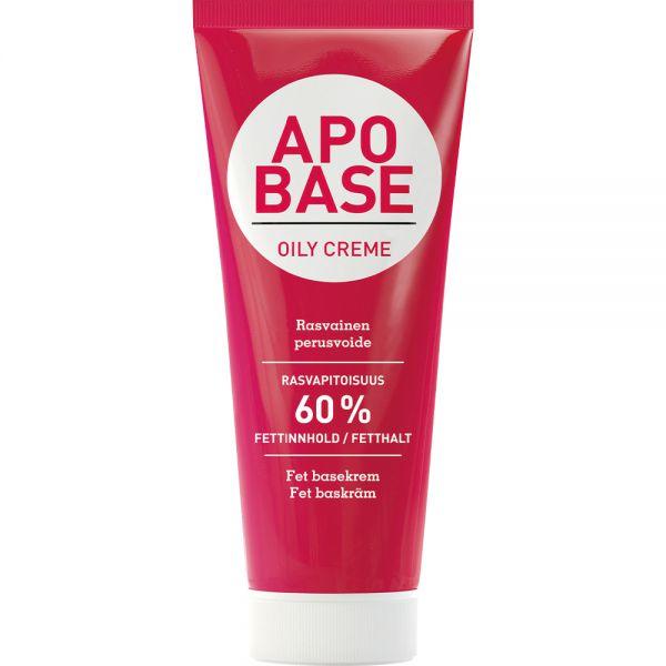 Apobase Fet Krem 100 g - for meget tørr hud, Apotekfordeg, 921640