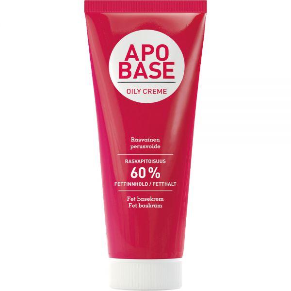 Apobase Fet Krem 200 g - for meget tørr hud, Apotekfordeg, 913733