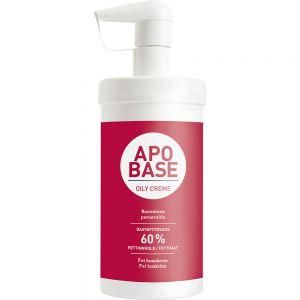 Apobase Fet Krem m:Dispenser 435 g - for meget tørr hud, Apotekfordeg, 901368