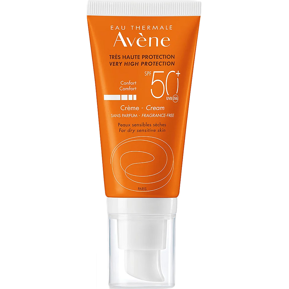 Avene Sun Face Cream SPF50+ 50 ml, ApotekForDeg, 948321