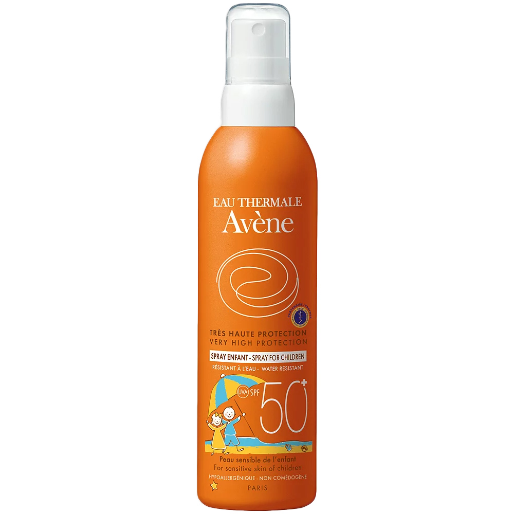 Avene Sun Spray Kids SPF50+ 200 ml, ApotekForDeg, 810737