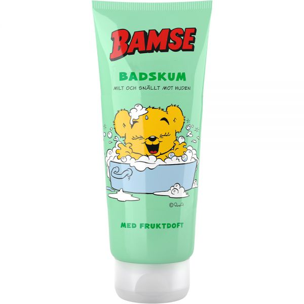 Bamse Badeskum 200 ml - badeskum for barn, Apotekfordeg, 815991