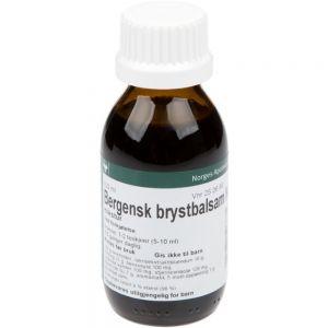 Bergensk Brystbalsam NAF Mikstur 100 ml - hostesaft mot slimhoste, Apotekfordeg, 250688