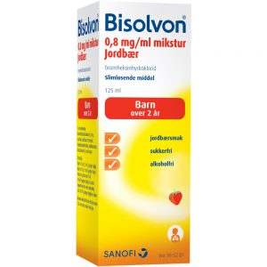 Bisolvon mikstur, slimløsende middel, Apotekfordeg, 395281