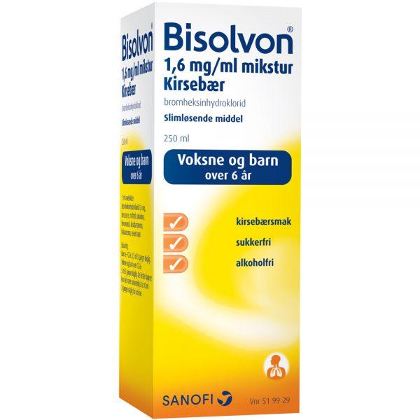 Bisolvon slimløsende middel, Apotekfordeg, 519929