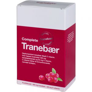C-vitamin 60 stk - beskytter urinveier og celler, Apotekfordeg, 906053