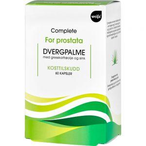 Complete Dvergpalme Kapsler 60 stk - for prostata, Apotekfordeg, 936611