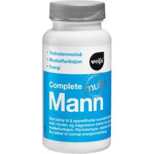 Complete Multi Mann Tabletter 60 stk - multivitamineral for menn, Apotekfordeg, 932196