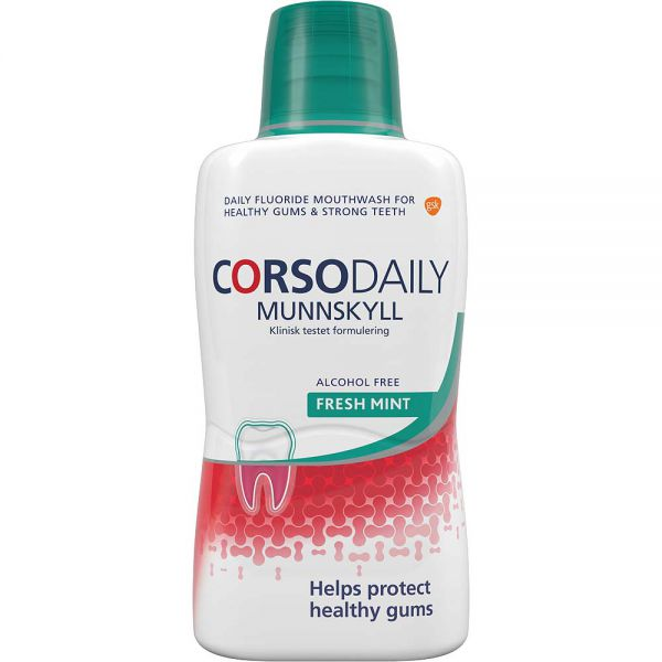 Corsodaily Munnskyll 500 ml, ApotekForDeg, 904105