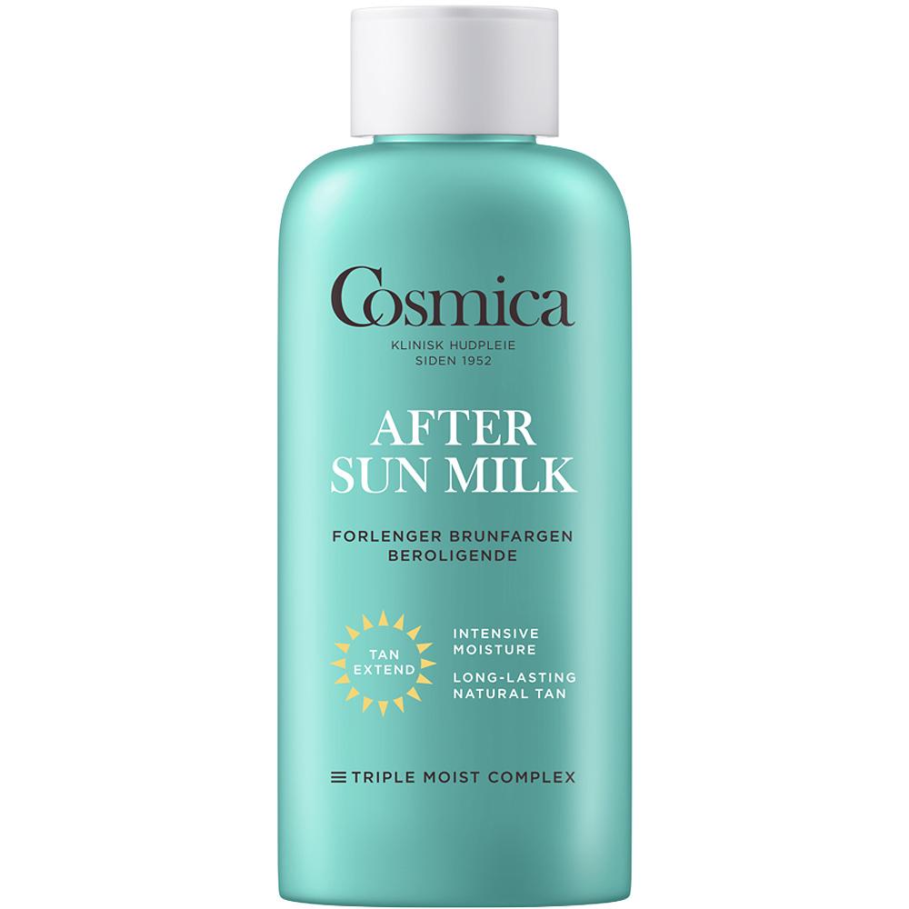 Cosmica after sun milk, forlenger brunfargen og beroliger huden, 200 ml, ApotekForDeg, 861749