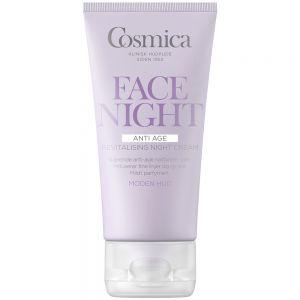 Cosmica anti-age revitalising night cream, vitaminrik nattkrem for moden hud, 50 ml, ApotekForDeg, 970837