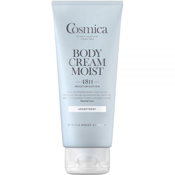 Cosmica body cream moist fuktgivende kroppskrem uten parfyme, 200 ml, ApotekForDeg, 987316