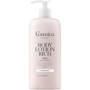 Cosmica body lotion rich for tørr hud uten parfyme, 400 ml, ApotekForDeg, 912312