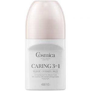 Cosmica deo caring 3-i-1, transparent antiperspirant med parfyme, 50 ml, ApotekForDeg, 948893
