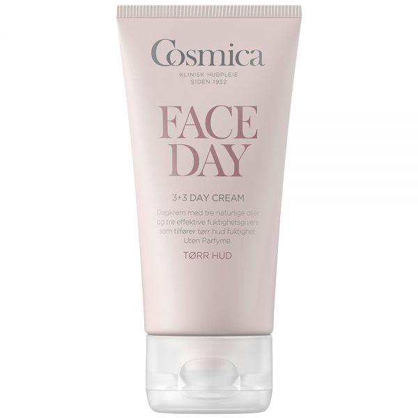 Cosmica face 3+3 day cream, dagkrem for tørr hud, 50ml, ApotekForDeg, 819950