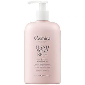 Cosmica hand soap rich, håndsåpe som tilfører fukt i 8 timer, 300 ml, ApotekForDeg, 813317