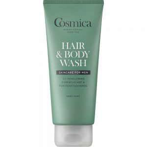 Cosmica men hair & body wash forfriskende vask for hår og kropp, Apotekfordeg, 985658