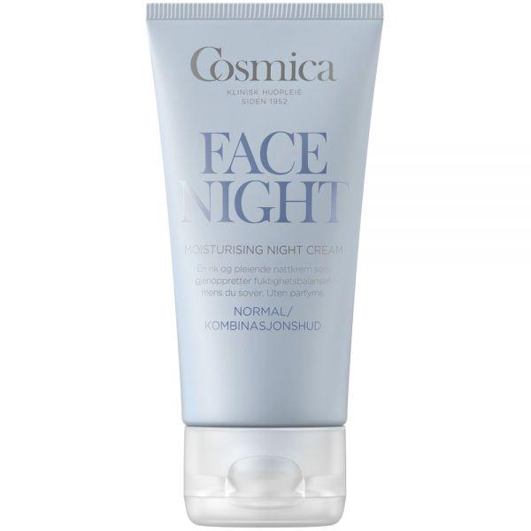 Cosmica moisturising night cream, nattkrem til normal:kombinasjonshud, 50 ml, ApotekForDeg, 872999