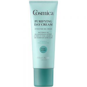 Cosmica pure glow purifying day cream, gelkrem som fukter i dybden, 50 ml, ApotekForDeg, 832801