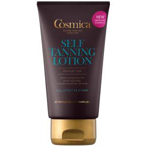 Cosmica self tanning lotion selvbruning til ansikt og kropp, 150 ml, ApotekForDeg, 960769