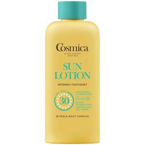 Cosmica sun lotion intensive moisture SPF30, solkrem til kropp uten parfyme, 300 ml, ApotekForDeg, 924774