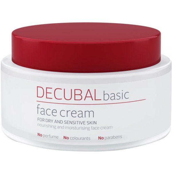 Decubal face cream pleiende ansiktskrem for tørr og sensitiv hud, Apotekfordeg, 913787
