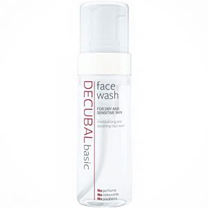 Decubal face wash mild ansiktsvask for sensitiv hud, Apotekfordeg, 914070