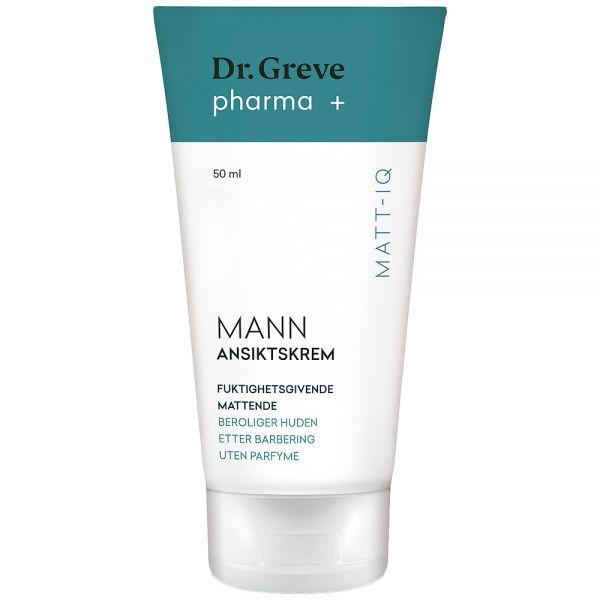 Dr Greve Pharma ansiktskrem for menn, 50ml, ApotekForDeg, 924636