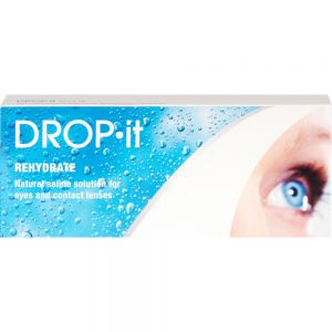Drop-it øyedråper saltvann til øyne, 20x2 ml, Apotekfordeg, 901653