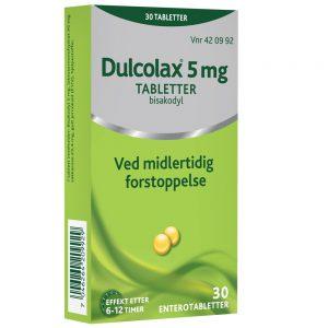 Dulcolax tabletter ved midlertidig forstoppelse, Apotekfordeg, 420992