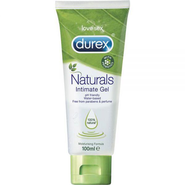 Durex Naturals Glidekrem 100 ml 100% naturlige ingredienser, Apotekfordeg, 980158