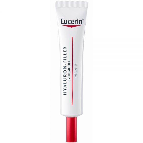 Eucerin Hyaluron-Filler + Volume-Lift Eye Cream SPF15, øyekrem til alle hudtyper, 15 ml, ApotekForDeg, 883198