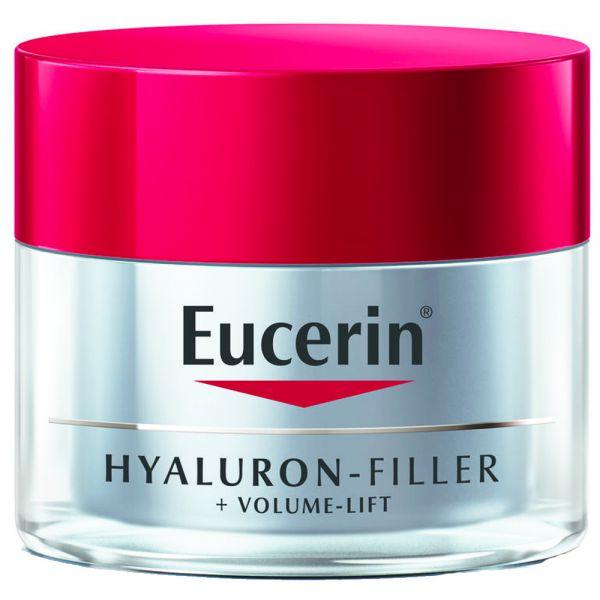 Eucerin Hyaluron-Filler + Volume-Lift Night Cream, nattkrem til normal:tørr hud, 50 ml, ApotekForDeg, 810874