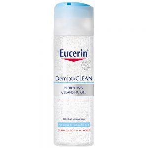 Eucerin dermato cleansing gel, for normal, sensitiv og kombinasjonshud, 200ml, ApotekForDeg, 851557