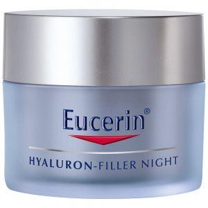 Eucerin hyaluron filler night cream, nattkrem med hyaluronsyre, 50ml, ApotekForDeg, 816670