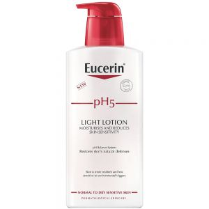 Eucerin pH5 light lotion, lett parfymert bodylotion, 400ml, ApotekForDeg, 915935
